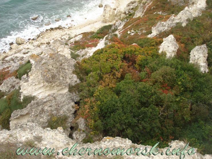 ФОТО отчёт - 2010 сентябрь продолжение Джангуль Крым Западный берег мыс Тарханкут